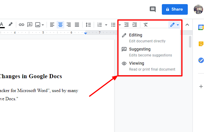 Easy Ways to Make Track Changes in Google Docs 1