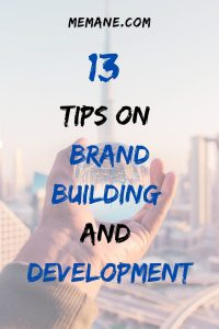 brand building and development