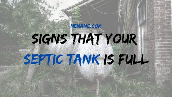 Signs That Your Septic Tank Is Full